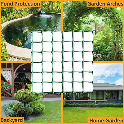 New Plastic Mesh Garden Netting Fencing Plant Barrier Green Chicken Wire 5m Roll • 17.49£