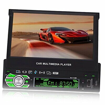 AU255.37 • Buy 7-inch Single DIN In-Dash GPS Navigation For Car With Rear View Camera,Support