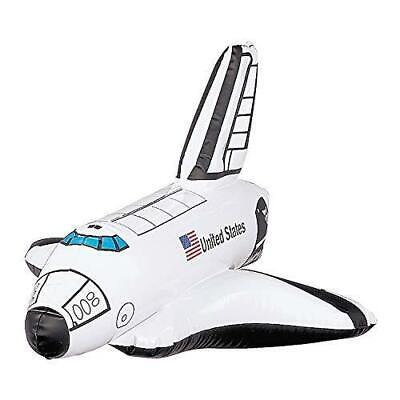 £4.99 • Buy Large 14 Inch Inflatable Space Shuttle Rocket Nasa Party Gift