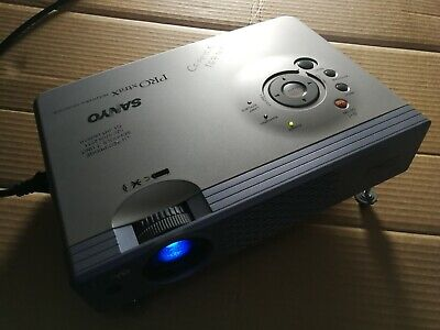 £26 • Buy SANYO Pro XtraX Plc-Xu41 Multiverse Projector With Bag, Remote And Cables