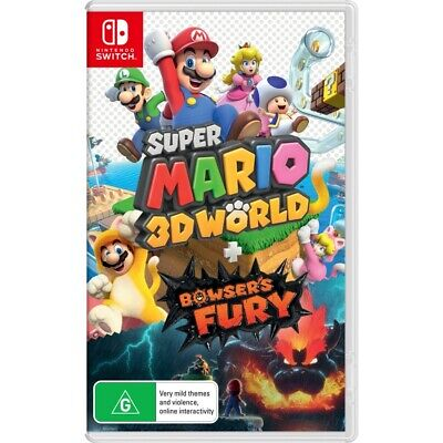 AU69 • Buy Super Mario 3D World + Bowsers Fury - Nintendo Switch