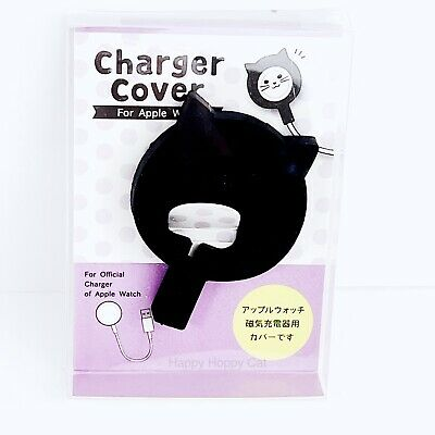 $ CDN14.57 • Buy Apple Watch Charger Series 5 4 3 2 1 Black Cat Face Charger Cover Kawaii