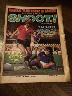 £0.99 • Buy Shoot! Magazine 14th October 1978 Arsenal Team Picture
