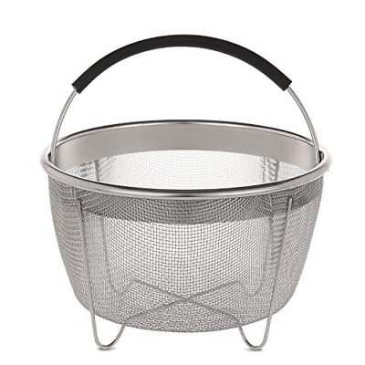 $ CDN22.90 • Buy Aozita Steamer Basket For Instant Pot Accessories 3 Qt Only- Stainless Steel For