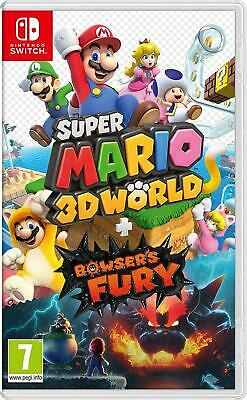 Super Mario 3D World + Bowser's Fury Nintendo Switch Brand New And Sealed • 44.75£