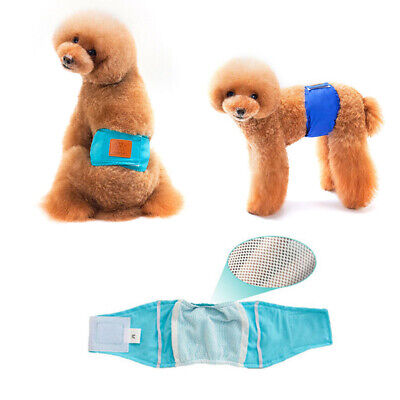 £5.65 • Buy Dog Puppy Nappy Diapers Belly Wrap Band Sanitary Pants Underpants S-XL Size UK