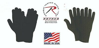 $9.99 • Buy USA Made Wool Glove Liners Cold Weather GI Tactical Gloves Winter 8518