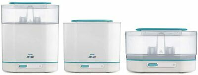 AU120.22 • Buy Philips Avent 3-in-1 Electric Steam Steriliser With Fast Cycle And Auto Shut-Off