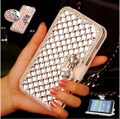 AU19.72 • Buy New Bling Flip Leather Card Stand Wallet Case For OnePlus 3 5 5T 6 6T 7 7T Pro
