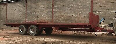 £3750 • Buy Bale Trailer Straw Silage Potato Tractor