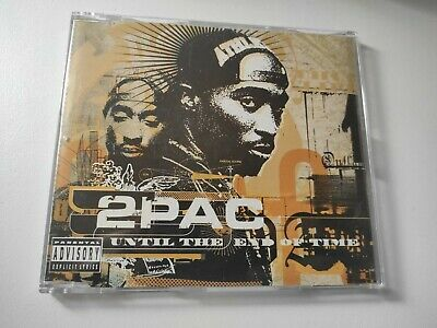 2pac - Until The End Of Time - 4 Tracks Cd Single • 1.99£