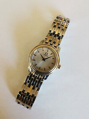 Ladies OMEGA DeVille Prestige Steel & 18ct Gold Quartz Mini 22mm  • 679.49£