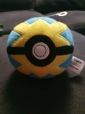 Pokemon Quick Ball Plush Toy Pokeball • 4.16£