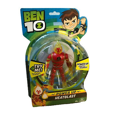 Ben 10 Power Up HEATBLAST Deluxe Action Figure With Lights & Sound Toy 4+  • 22.95£