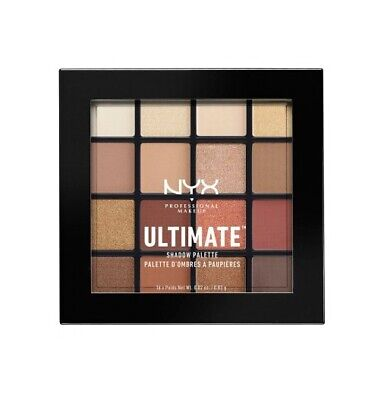 AU20 • Buy NYX Ultimate Shadow Palette Eyeshadow Powder 16 Colours #USP03 WARM NEUTRALS