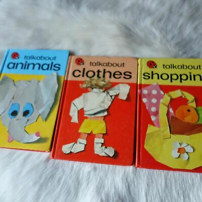 LadyBird TALK ABOUT ANIMALS, CLOTHES, SHOPPING 3 Pack • 10.07£