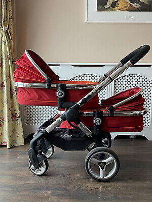 ICandy Peach Twin Pram And Pushchair • 300£