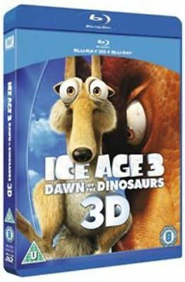 Ice Age 3 - Dawn Of The Dinosaurs (3D Blu-ray, 2012) Brand New • 2.99£