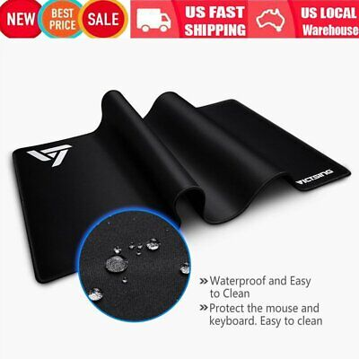 AU22.25 • Buy New Extended Gaming Mouse Pad Large Size Desk Keyboard Mat 800MM X 400MM X 2.5mm