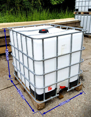 IBC Container 1000 Litre. Water Storage Tank • 60£