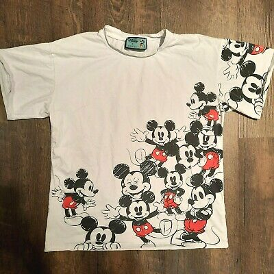 AU174.31 • Buy DISNEY X GUCCI Mickey Mouse Short Sleeve T-shirt S Small White