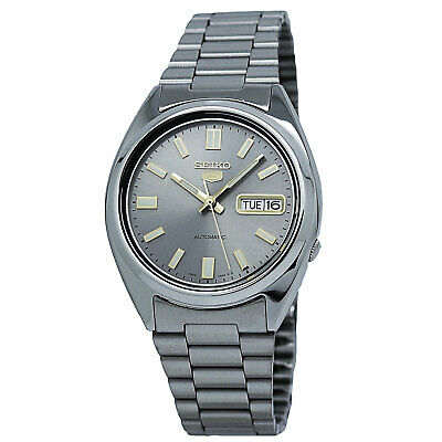 $ CDN117.55 • Buy Seiko Men's SNXS75 Seiko 5 Automatic Grey Dial Stainless Steel Bracelet Watch
