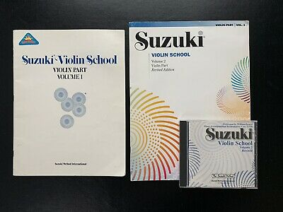 AU13.05 • Buy Suzuki Violin School Volume 1 Book Volume 2 Book Volume 2 Revised Audio CD