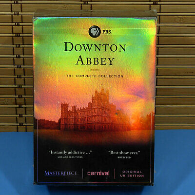 New Sealed Downtown Abbey The Complete Collection 22 Discs DVD Box Set V97 • 24.17£