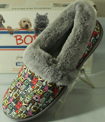 Bobs From Skechers Too Cozy Dog Print Women's Slippers,  113222/g • 30.38£