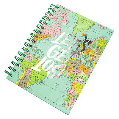 £6.49 • Buy Spiral A5 Travel Journal Hardback Lined Paper Notebook With Pattern Design Book