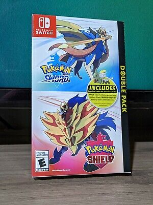 $ CDN55 • Buy Pokemon Sword & Shield Double Pack - *BOX + CODES ONLY* NO GAMES Nintendo Switch