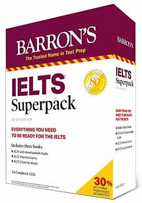 IELTS Superpack (Barron's Test Prep). Lougheed 9781506268705 Free Shipping<| • 39.65£