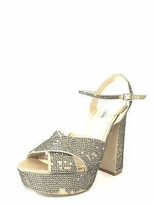 Women's Shoes Steve Madden Partytime Pewter Heels Shoe Size 9.5 M * • 16.72£