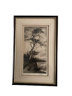 £20 • Buy Willie Rawson Limited Edition 'Solitude' Signed Etching