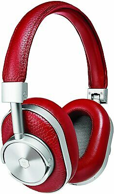 $ CDN180.42 • Buy Master & Dynamic MW60 Wireless Bluetooth Foldable Over-The-Ear Headphones - Red