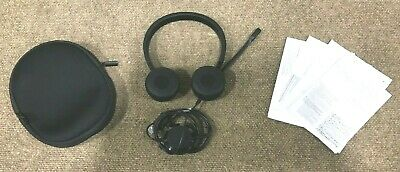 Dell Pro Stereo Headset UC350 Skype For Business New Open Box Nice • 32.25£