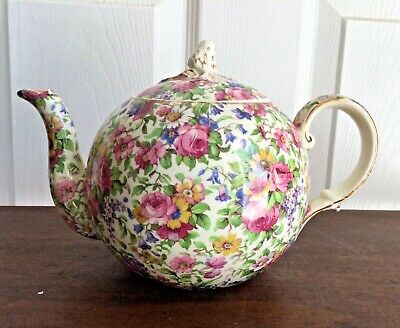 $ CDN245 • Buy Royal Winton Grimwades Summertime Chintz Teapot England