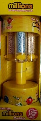 £14.95 • Buy Mini Millions Sweet Dispenser Machine Toy Ideal Gift For Christmas Yellow