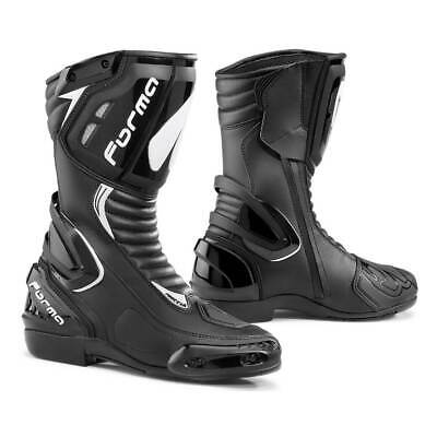 £155.10 • Buy Motorcycle Boots | Forma Freccia Sports Black Track Riding Street Tech