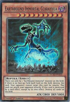 YuGiOh Earthbound Immortal Ccarayhua LC5D-EN151 Super Rare 1st Edition Near Mint • 4.70£