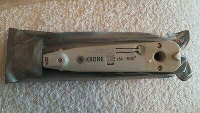 Krone LSA Plus IDC Insertion Punch Down Tool With Sensor & Auto-Cutter- New • 19.95£