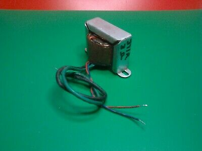 £14.99 • Buy Small Valve Output Transformer Single Ended Primary 371R 3 Ohm Output Suit EL84/