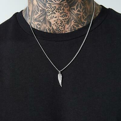 Wing Pendant Necklace | Silver • 14.99£