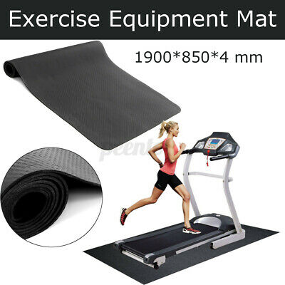 AU26.83 • Buy Exercise Mat Sport Gym Yoga Equipment Go Fit Protect Cover Treadmill Bike 190x85