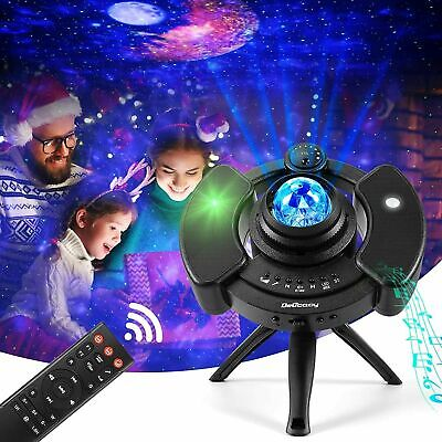 AU45.99 • Buy UFO Galaxy Star Night Lamp LED Starry Sky Projector Light With Bluetooth Speaker