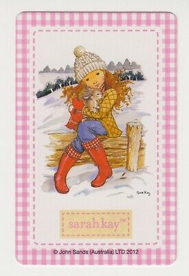 AU2.95 • Buy Playing Swap Cards  GENUINE 1 Single Only SARAH KAY From Special Edition Deck