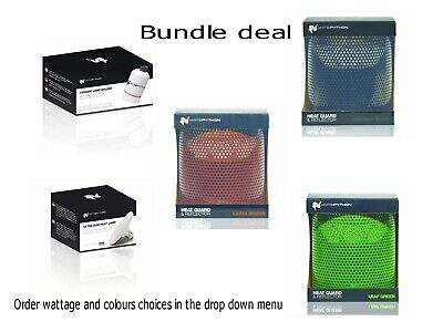 £70.71 • Buy WhitePython Ceramic Heater Bulb, Guard & Reflector Bundle Deal For Reptiles