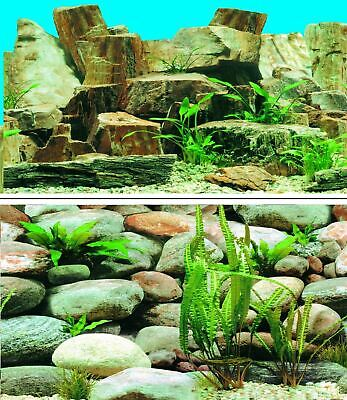 AU23.48 • Buy Aquarium Fish Tank Background Picture Poster Double Sided - 2 To 10 FT Lengths