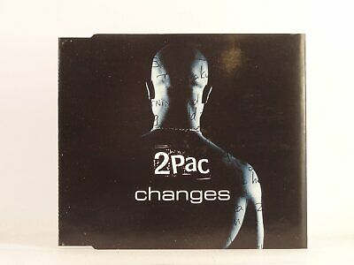 2PAC CHANGES (A2) 3 Track CD Single Picture Sleeve JIVE • 1.68£