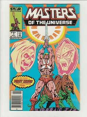 $20 • Buy Masters Of The Universe # 1 F/VF Star 1986 TV Series He - Man Skeletor Newstand